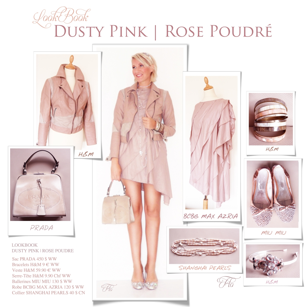 LookBook Dusty Pink | Rose Poudré