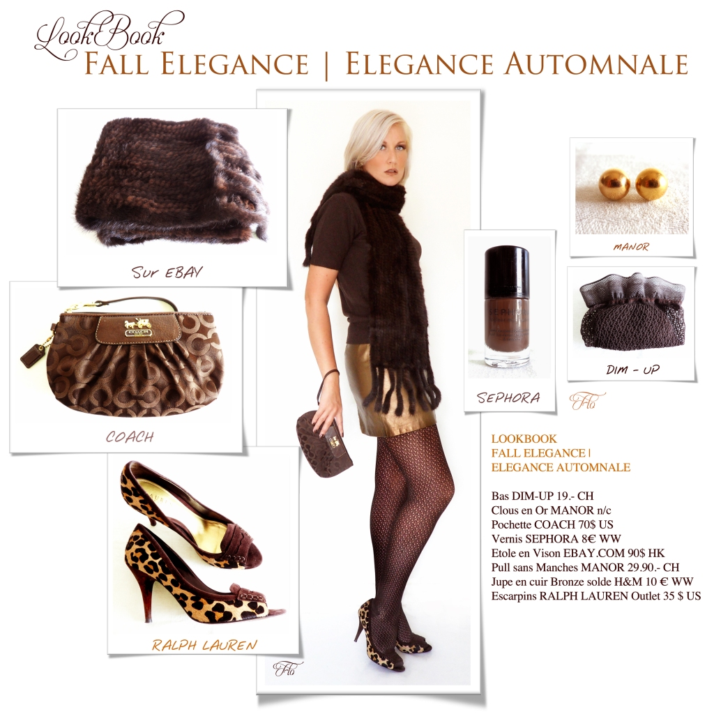 LookBook Fall Elegance | Elégance Automnale