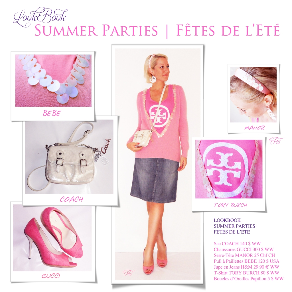 LookBook Summer Parties | Fêtes de l'Eté