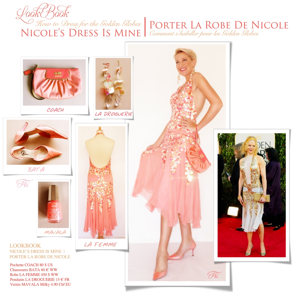 LookBook Nicole's Dress Is Mine | Porter La Robe De Nicole