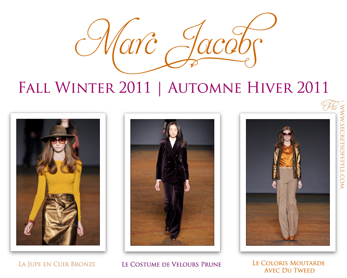Marc Jacobs Fall Winter 2011 | Automne Hiver 2011