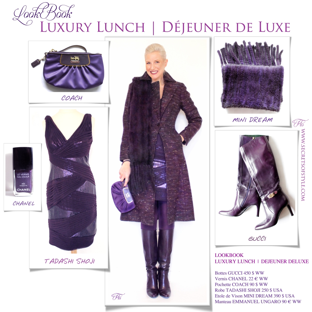 Lookbook Luxury Lunch | Déjeuner de Luxe