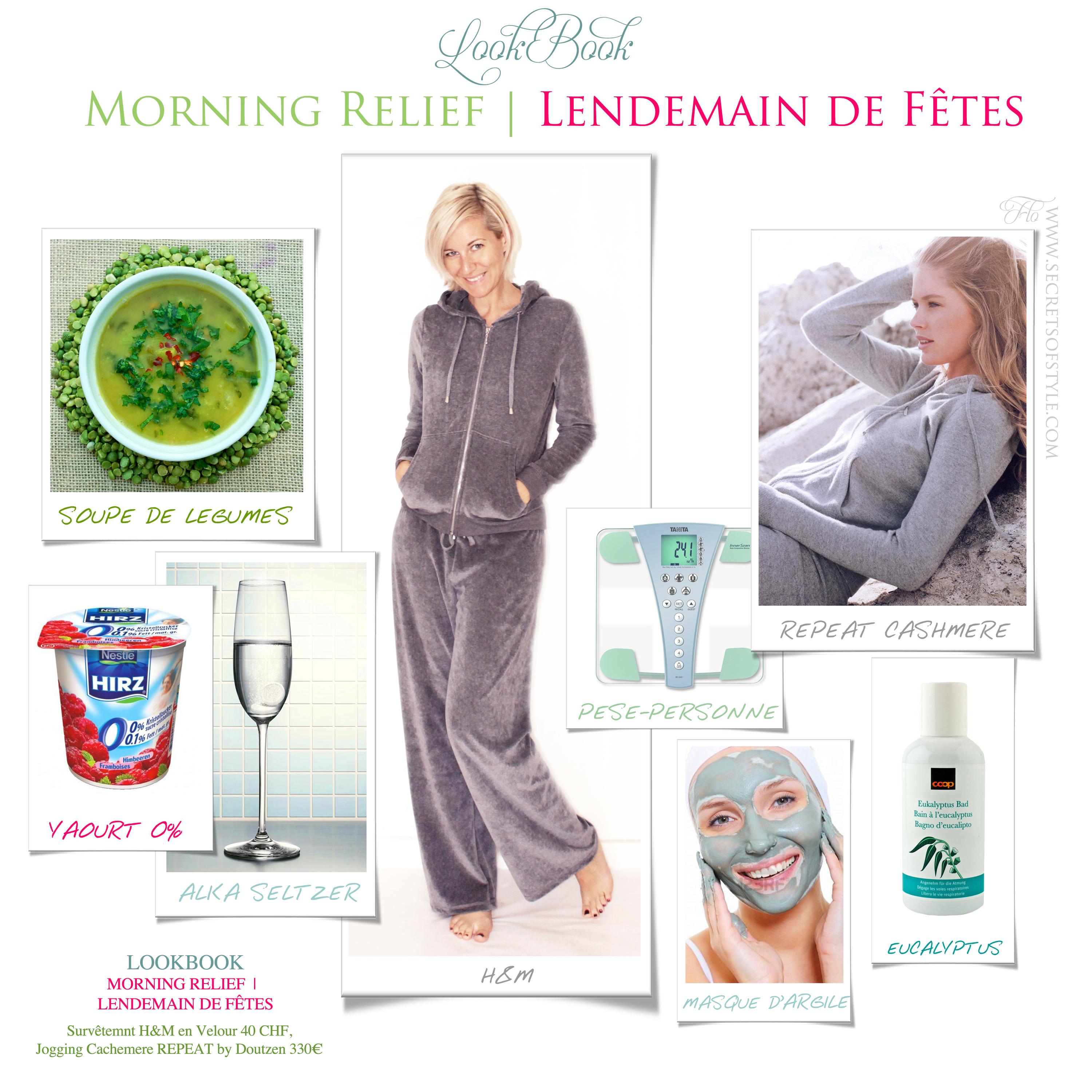LookBook Morning Relief | Lendemain de Fêtes