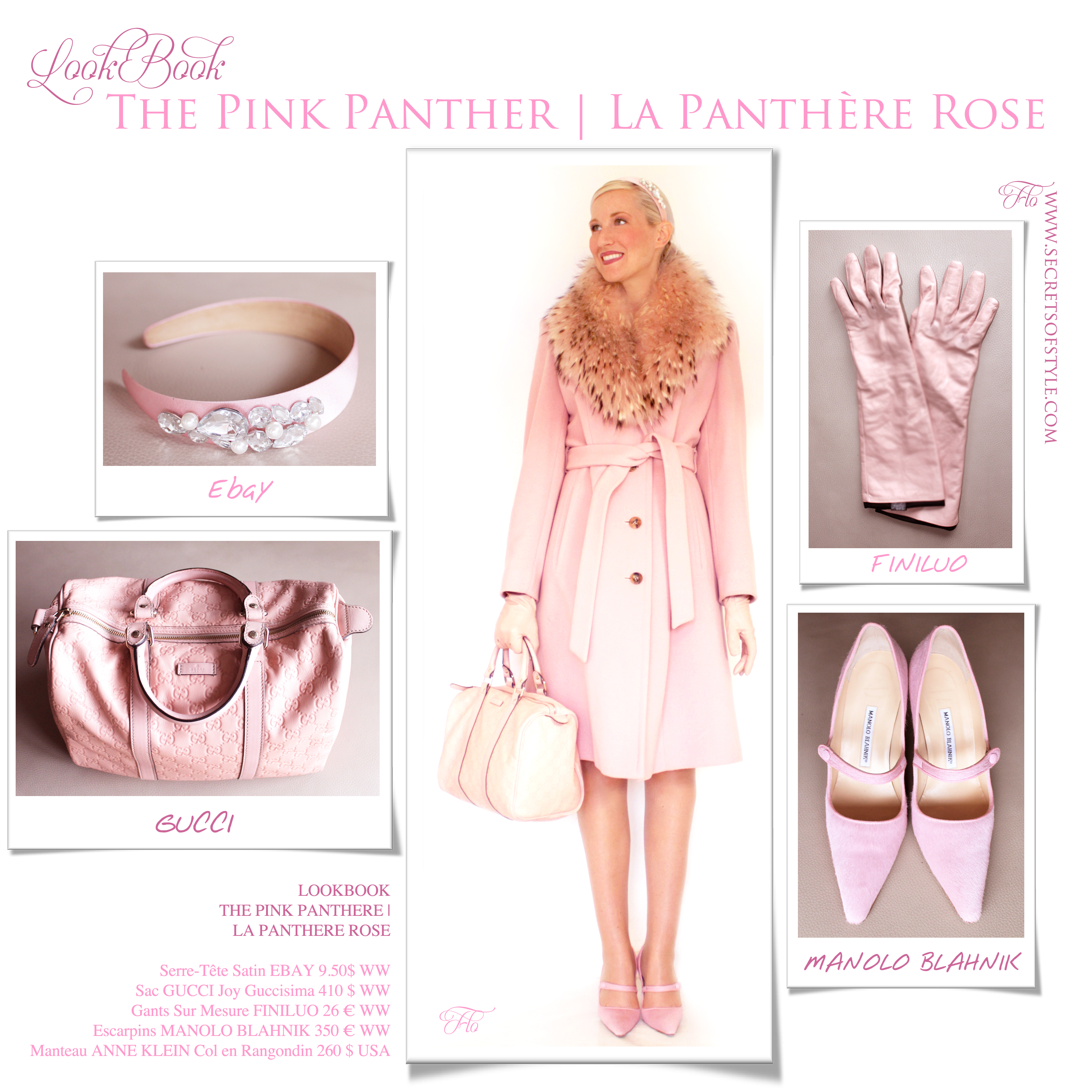 LookBook The Pink Panther | La Panthère Rose