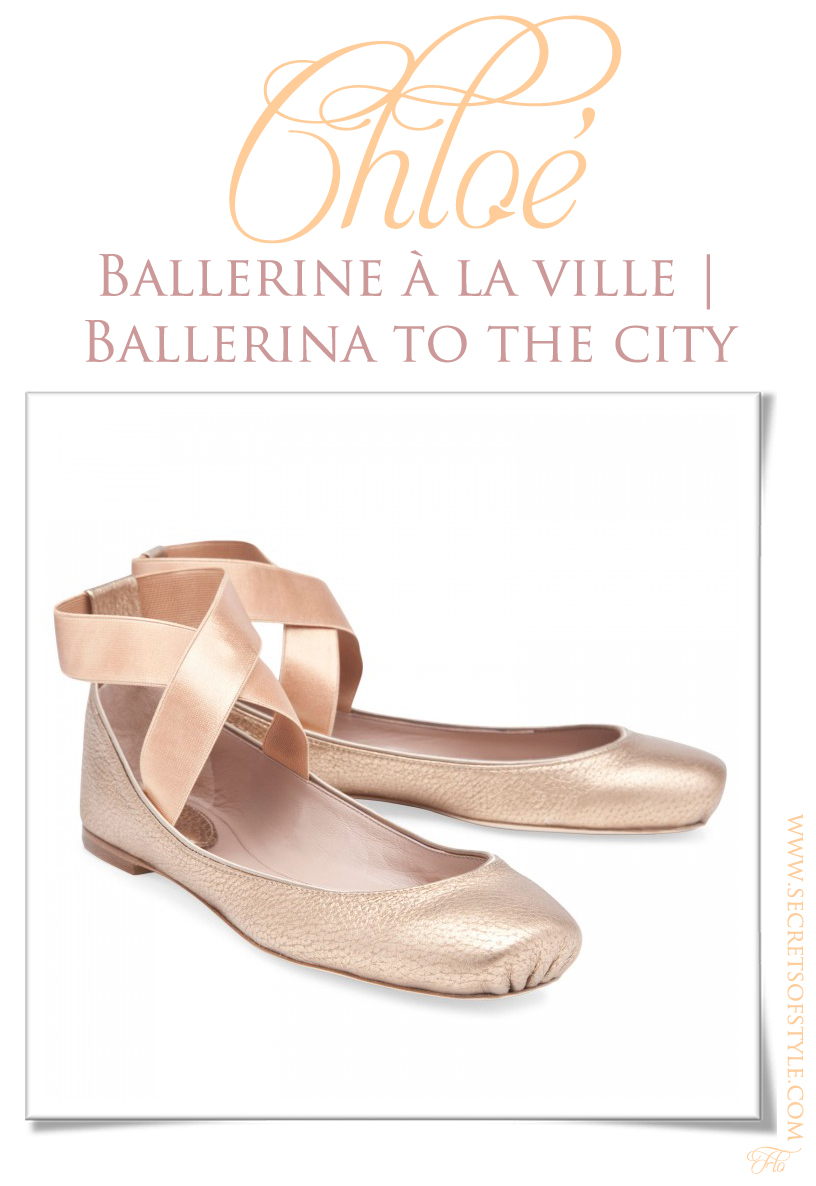 Chloé Ballerina to the City | Ballerine à la Ville