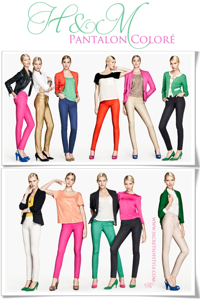 H&M | Pantalon coloré