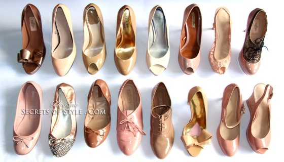 chaussures-nudes