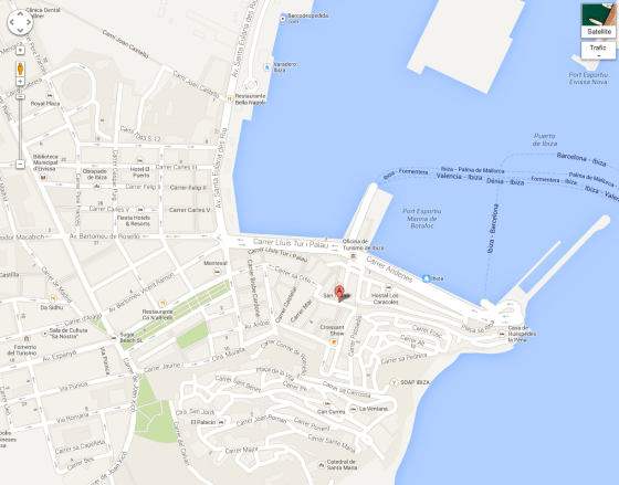 Google-map-tom-tom-ibiza